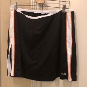 Izod skort black and orange